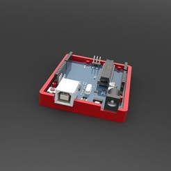 1.JPG Download STL file Arduino Uno Case • 3D printing template, IceKiwi