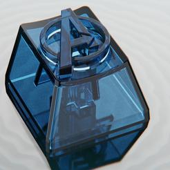 avengerk1.8.png Download STL file Avengers Keycap • Model to 3D print, IceKiwi