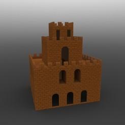 2.JPG Télécharger fichier STL Super Mario Castle • Modèle à imprimer en 3D, IceKiwi