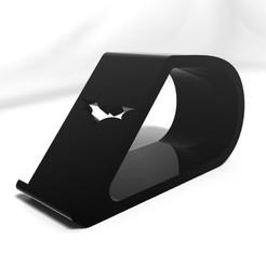 Descargar archivos 3D Soporte de teléfono BATMAN, IceKiwi