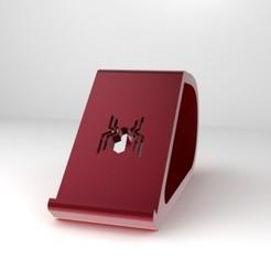 Download STL file SPIDERMAN PHONE HOLDER II, IceKiwi