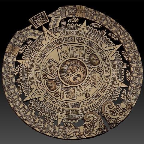 6.jpg Télécharger fichier STL gratuit calendrier maya fin du monde 2012 cnc art routeur • Modèle pour impression 3D, CNC_file_and_3D_Printing
