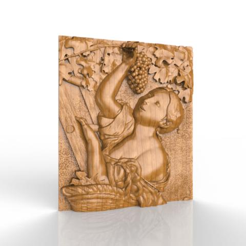 Screenshot_345.png Download free STL file woman wine grapefruit raisin • Model to 3D print, CNC_file_and_3D_Printing
