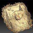 25.jpg Télécharger fichier STL gratuit Chien de chasse scène canards cadre cnc routeur art cnc • Plan à imprimer en 3D, CNC_file_and_3D_Printing
