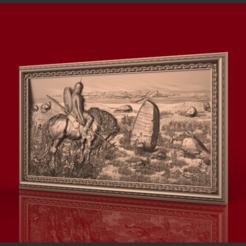 Imprimir en 3D gratis soldadura vikinga sobre ruteador cnc de caballo, CNC_file_and_3D_Printing