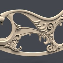 Download free 3D printer files Kreslo Kachalka levaya puma cnc art, CNC_file_and_3D_Printing
