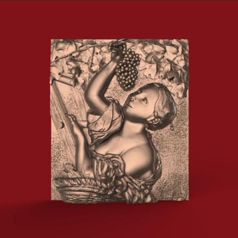Screenshot_343.png Download free STL file woman wine grapefruit raisin • Model to 3D print, CNC_file_and_3D_Printing