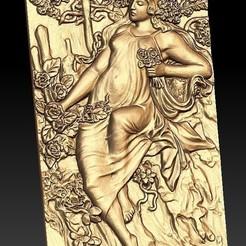 149.jpg Télécharger fichier STL gratuit femme dans la nature antique • Modèle à imprimer en 3D, CNC_file_and_3D_Printing