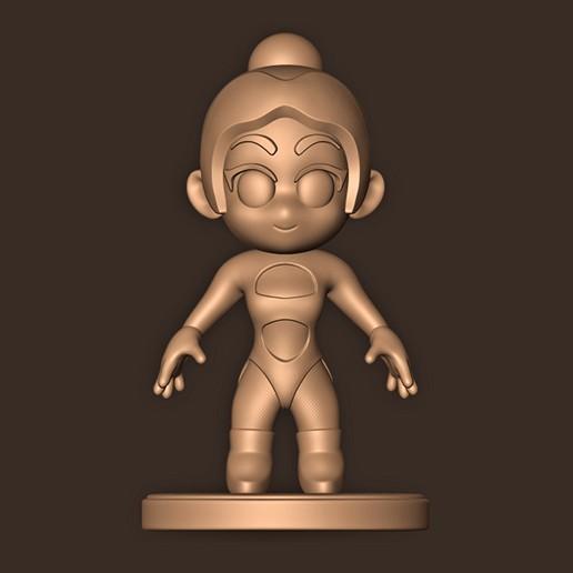 a.jpg Descargar archivo STL DUA LIPA // CHIBI ( Mtv Ema 2019 ) • Diseño para impresión en 3D, MatteoMoscatelli