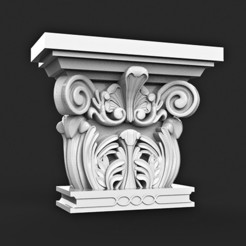 STL file COLUMN CLASSIC ARCHITECTURE decorative, MatteoMoscatelli