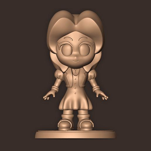 b.jpg Descargar archivo OBJ Aerith Gainsborough Chibi // Final Fantasy 7 • Plan de la impresora 3D, MatteoMoscatelli