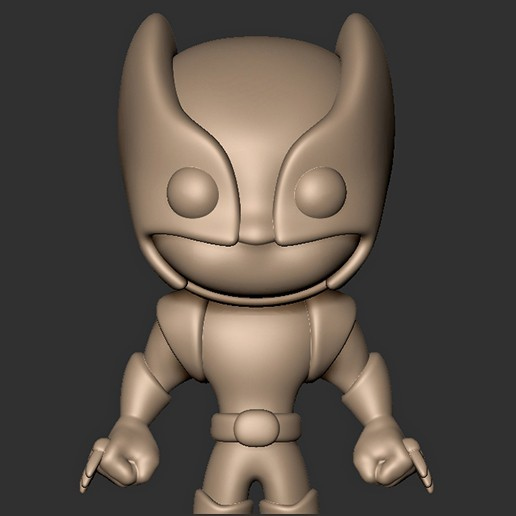 Télécharger STL Wolverine Chibi X MEN Fan Art, MatteoMoscatelli