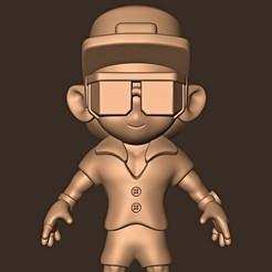 Descargar modelos 3D para imprimir Bruno Mars chibi, MatteoMoscatelli