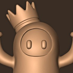 b.jpg Download STL file Full Guys Crown // Chibi • Design to 3D print, MatteoMoscatelli