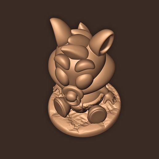 c.jpg Télécharger fichier STL Baby Crash Bandicoot  • Modèle imprimable en 3D, MatteoMoscatelli