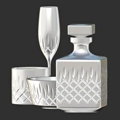 67890.jpg Download OBJ file Glass Bottles  • 3D printable model, MatteoMoscatelli