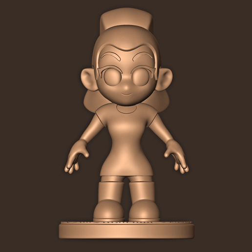 a.jpg Descargar archivo STL Ariana Grande chibi • Objeto para impresión 3D, MatteoMoscatelli