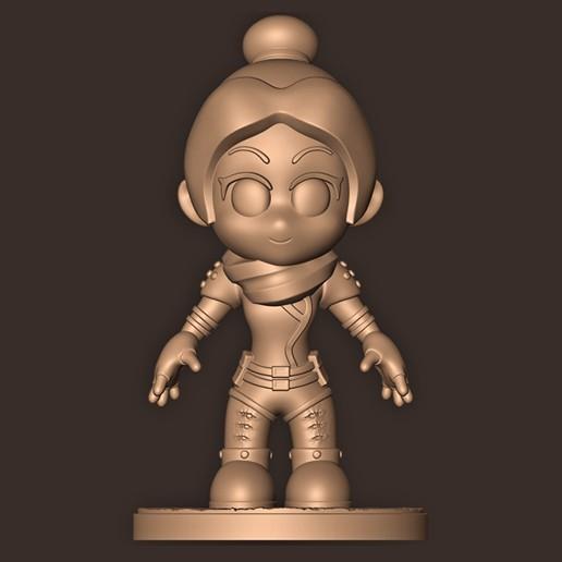a.jpg Descargar archivo STL Espectro Chibi // Leyendas de la cúspide • Modelo imprimible en 3D, MatteoMoscatelli