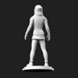 Free 3D printer files Underground Girl ( Action Figure ), MatteoMoscatelli