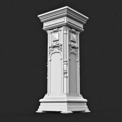 3D printing model Column Classic Architecture, MatteoMoscatelli