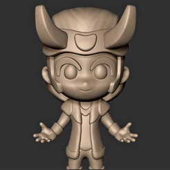 Télécharger fichier 3D Loki Chibi Fan Art, MatteoMoscatelli