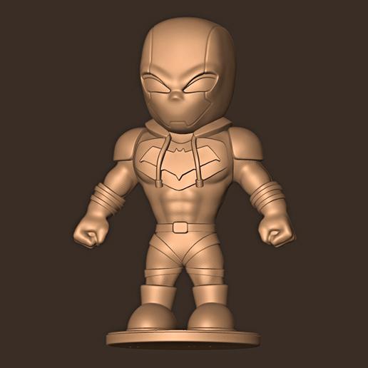 cc.jpg Descargar archivo STL Redhood chibi / Gotham Knight • Plan para la impresión en 3D, MatteoMoscatelli