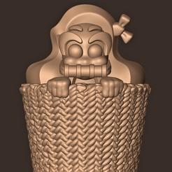 Descargar archivo 3D Bebé Nezuko Kamado // Cazador de Demonios, MatteoMoscatelli