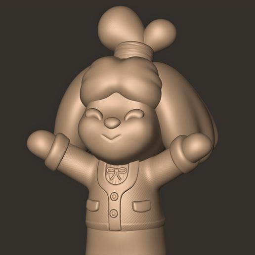 c.jpg Descargar archivo OBJ Isabelle // Animal Crossing New Horizons • Objeto para imprimir en 3D, MatteoMoscatelli