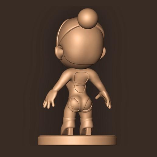 c.jpg Descargar archivo STL DUA LIPA // CHIBI ( Mtv Ema 2019 ) • Diseño para impresión en 3D, MatteoMoscatelli