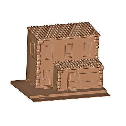 b.jpg Descargar archivo OBJ Casa ( Tienda ) • Objeto imprimible en 3D, MatteoMoscatelli