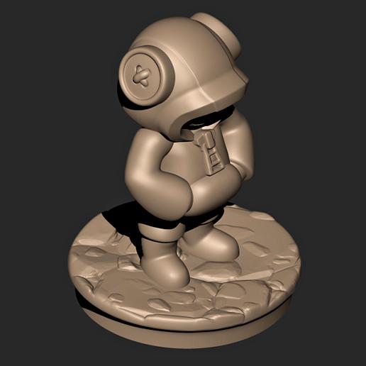7879.jpg Descargar archivo OBJ Leon // Brawl Stars ( Personaje legendario ) • Modelo para imprimir en 3D, MatteoMoscatelli