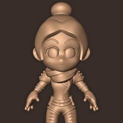 Imprimir en 3D Espectro Chibi // Leyendas de la cúspide, MatteoMoscatelli