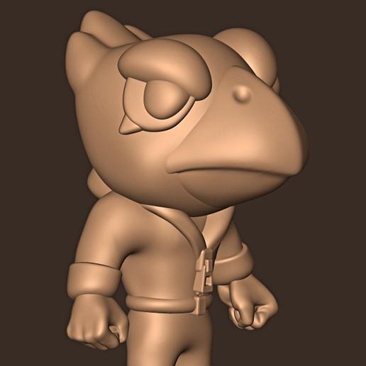 a.jpg Descargar archivo STL Cuervo // Estrellas de la pelea • Objeto imprimible en 3D, MatteoMoscatelli
