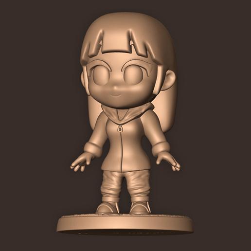 c.jpg Descargar archivo OBJ HINATA Hyuga Chibi • Modelo imprimible en 3D, MatteoMoscatelli