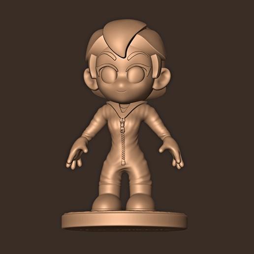 c.jpg Descargar archivo STL Tokyo Chibi // Casa de Papel 4 • Plan imprimible en 3D, MatteoMoscatelli