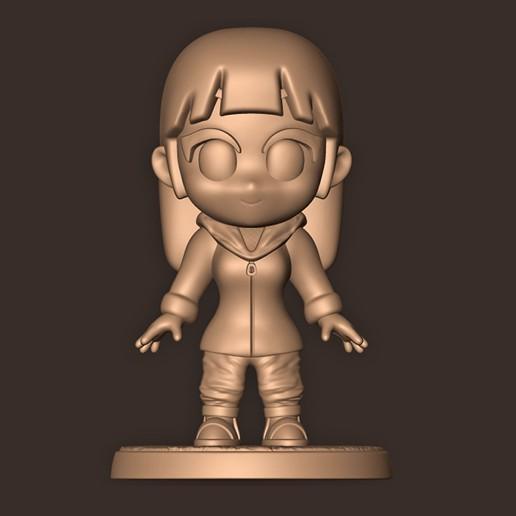 b.jpg Descargar archivo OBJ HINATA Hyuga Chibi • Modelo imprimible en 3D, MatteoMoscatelli
