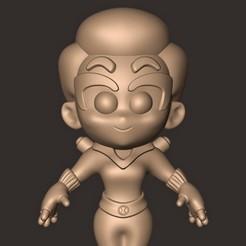 Descargar modelo 3D Viuda Negra // Natasha Romanoff ( Chibi, Vengadores ), MatteoMoscatelli