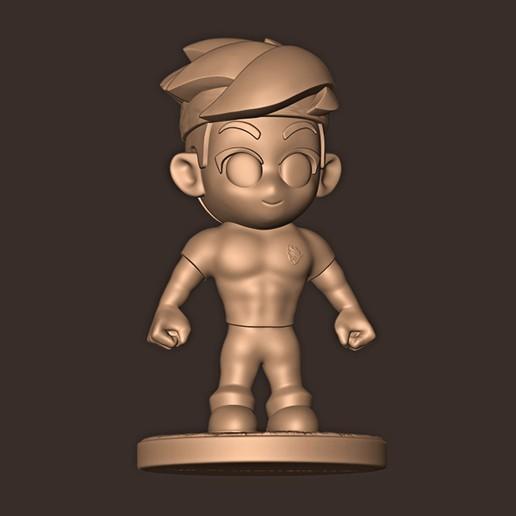 c.jpg Descargar archivo STL NINJA CHIBI ( Tyler ) • Modelo para la impresión en 3D, MatteoMoscatelli