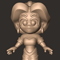 uuuu.jpg Download OBJ file JASMINE (ALADDIN ) Chibi Disney • 3D print model, MatteoMoscatelli