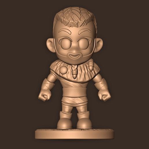 a.jpg Descargar archivo STL Eivior Chibi ( Assassin's Creed Valhalla ) VIKING Fan Art • Plan de la impresora 3D, MatteoMoscatelli