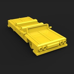 Download 3D printing templates TAXI CAR LOUNGE, MatteoMoscatelli