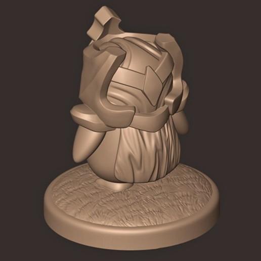 c.jpg Descargar archivo OBJ Pingüino // Tácticas de lucha en equipo ( Liga de Leyendas ) TFT • Diseño imprimible en 3D, MatteoMoscatelli