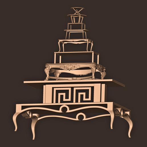 b.jpg Descargar archivo OBJ MESAS CLÁSICAS/MODERNAS • Diseño para imprimir en 3D, MatteoMoscatelli