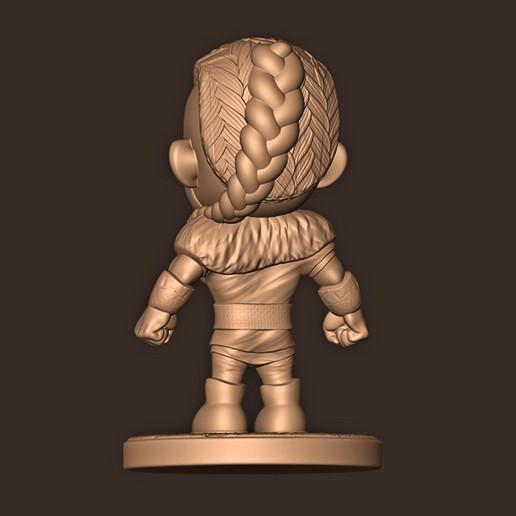 c.jpg Descargar archivo STL Eivior Chibi ( Assassin's Creed Valhalla ) VIKING Fan Art • Plan de la impresora 3D, MatteoMoscatelli