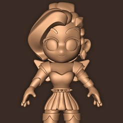 c.jpg Download STL file Seraphine ( league of legends ) champion spotlight • 3D printing design, MatteoMoscatelli