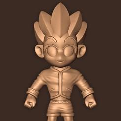 b.jpg Download STL file Gon Freecss ( Hunter x Hunter ) • 3D print model, MatteoMoscatelli