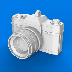 Download 3D printing files keychain vintage camera photography, MatteoMoscatelli