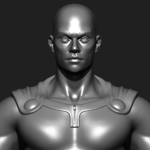 3D printer files One Punch Man in real life ( Action Figure ) fan art, MatteoMoscatelli