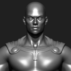 STL files One Punch Man in real life ( Action Figure ), MatteoMoscatelli