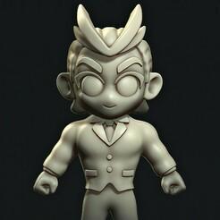 b.jpg Télécharger fichier STL Enseignant tout puissant // My Hero Academia • Design imprimable en 3D, MatteoMoscatelli